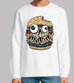 monstruo de hamburguesa