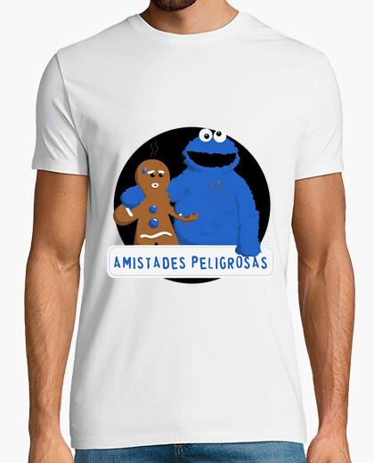 Camiseta monstruo galletas y jengibre