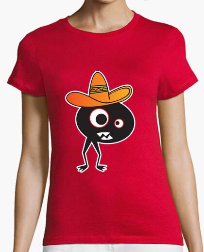 Camiseta monstruo mexicano