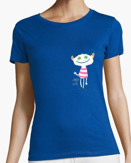 Camiseta Monstruo Take It Easy - Chica