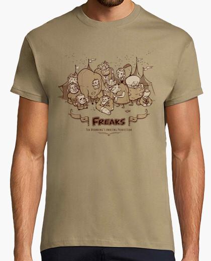 Camiseta monstruos - tod browning producciones increíble