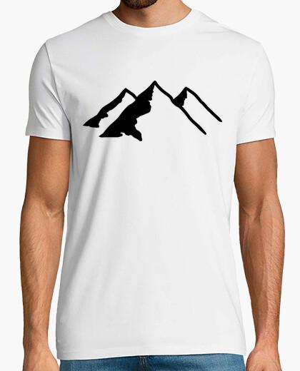 Tee-shirt montagnes noires