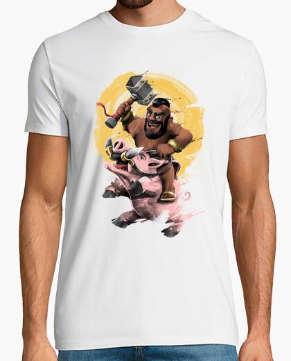 Camiseta monte la camisa del cerdo para hombre