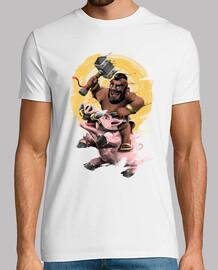 of Camisetas clans hombre clash de UtFntwxr