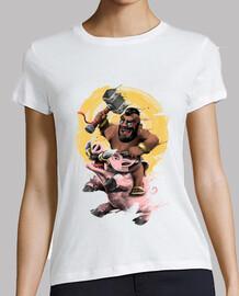 monter la chemise de porc femmes
