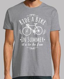 monter un vélo
