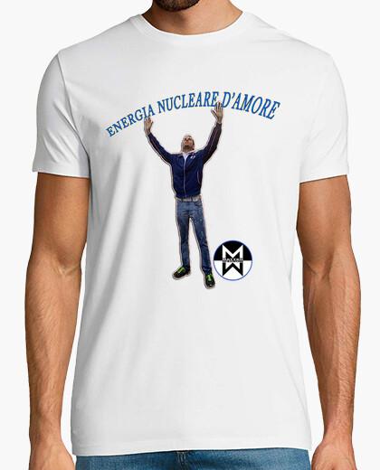 Tee-shirt montesi l'énergie nucléaire de l'amour