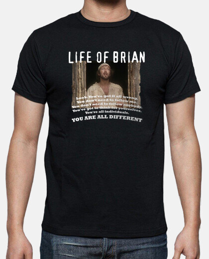 Camisetas Monty Python - Life Of Brian - Different