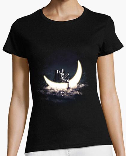 T-shirt moon a vela