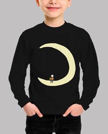 Moon and alto sax