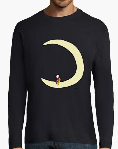 c04ba8cc85df moon and bariton sax T-shirt - 2076903 | Tostadora.com