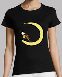 moon and cello