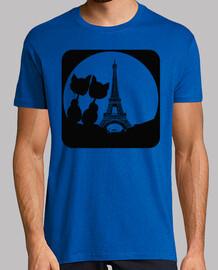 MOON LOVE PARIS Botón cat neg