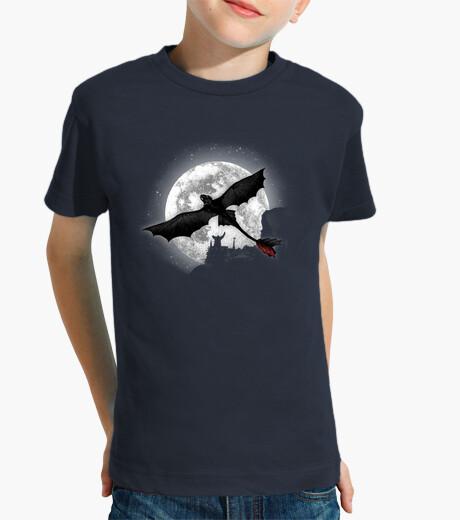 Moonlight dragon rider kids clothes
