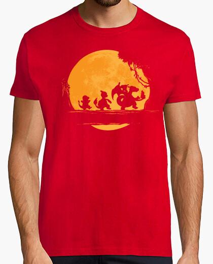 Camiseta moonwalk fuego