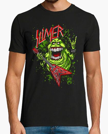 Camiseta Moquete Slimer - Rockero