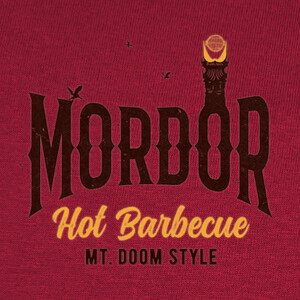 Camisetas Mordor Hot Barbecue