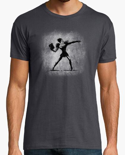 T-shirt morte note lanciatore