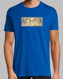 Mosaico Gladiadores