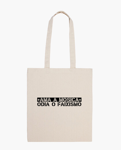 Mosica loves, hates or faixismo bag