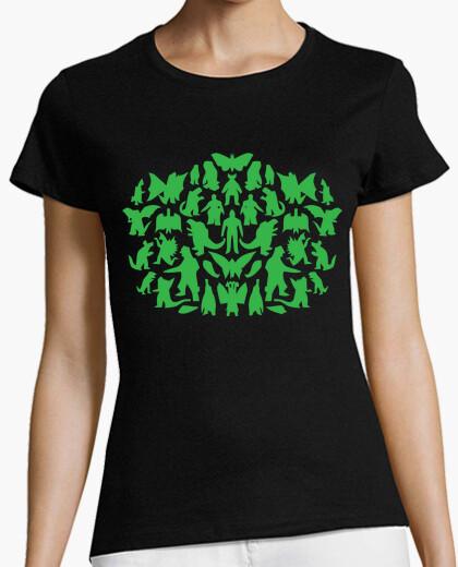 T-shirt mostri big bang theory