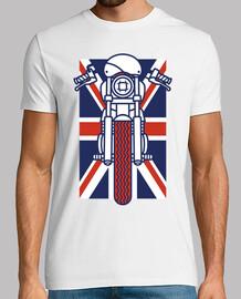 motard britannique