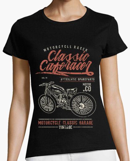 Tee-shirt motard classique caferacer