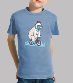 motard de montagne yeti