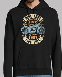 motard depuis 1987