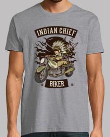 motard en chef indien