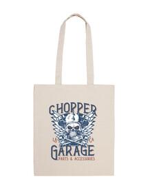motards chopper motos garage USA rock and roll