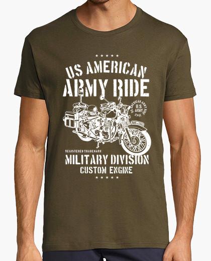 Camiseta Motero army ride