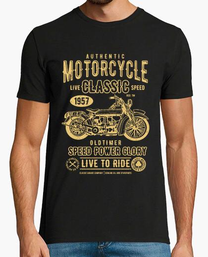 Camiseta Motero classic motorcycle