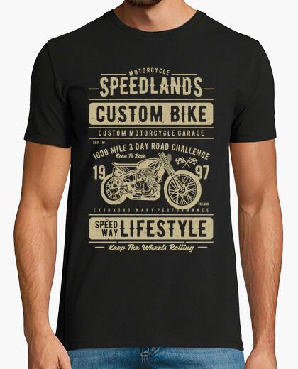 Camiseta Motero custom bike