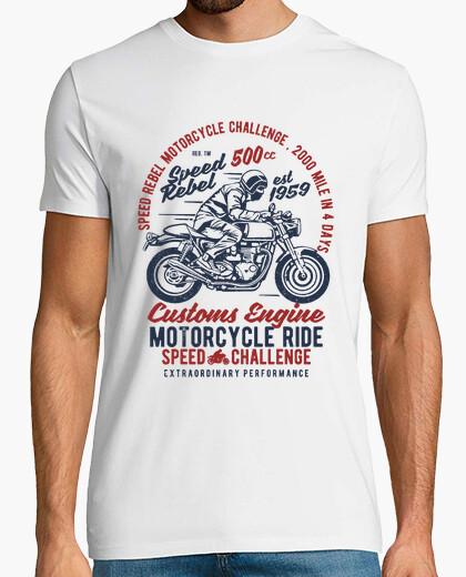 Camiseta Motero customs engine
