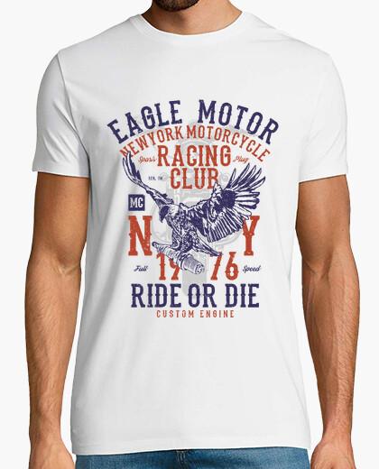 Camiseta Motero eagle motor New York