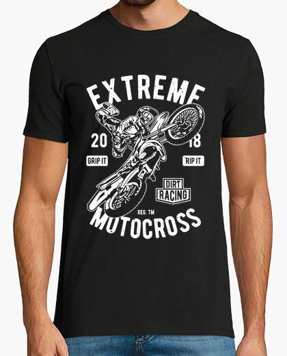 Camiseta Motero extreme motocross