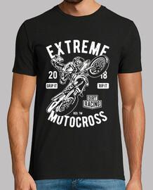 Motero extreme motocross