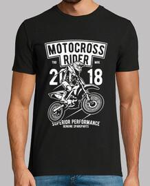 Motero motocross rider