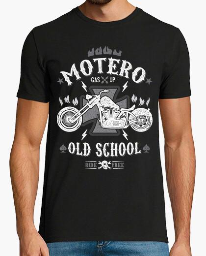 Camiseta Motero Old School