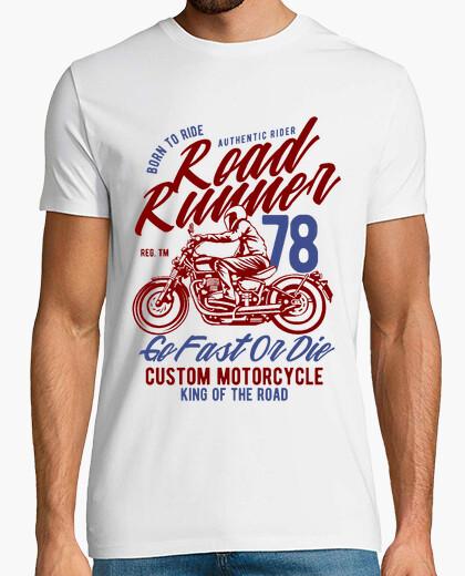 Camiseta Motero road runner