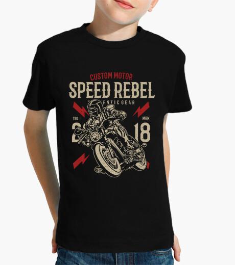 Ropa infantil Motero speed rebel