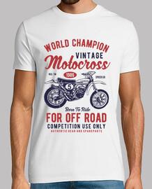 Motero vintage motocross