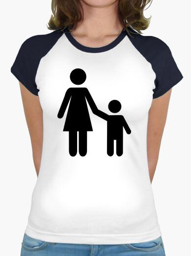 Mother mom son boy t-shirt