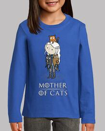 mother of cats - madre de gatos - broma