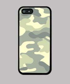 Motif camouflage  kaki clair