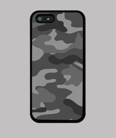 Motif camouflage gris