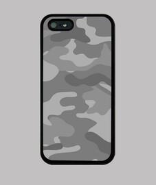 Motif camouflage gris clair