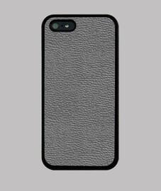 Motif cuir gris foncé