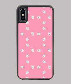 Motivo ositos polares II iPhone X/XS rosa